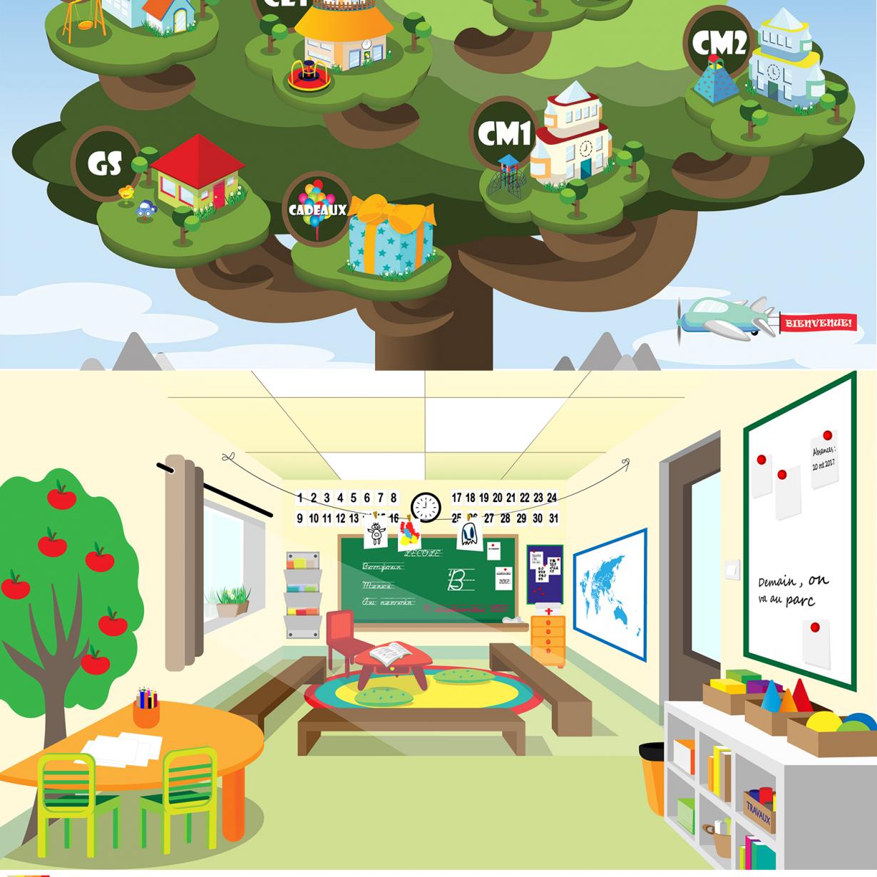 L'école dans l'arbre