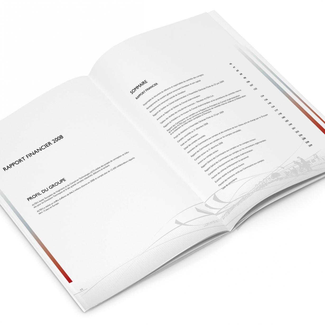 Alten - Rapport annuel